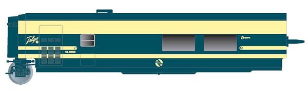 Electrotren E3353 - Cafeteria Coach Trenhotel Talgo