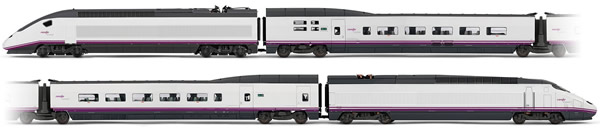 Electrotren E3522 - Spanish 4pc High Speed Train Set Euromed S-101 of the RENFE