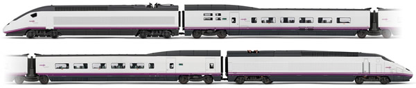Electrotren E3522D - Spanish 4pc High Speed Train Set Euromed S-101 of the RENFE