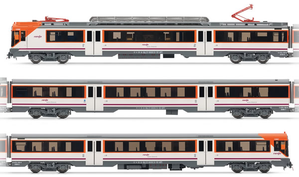 Electrotren E3609 - Spanish Electric Railcar class 470 of the RENFE Operadora