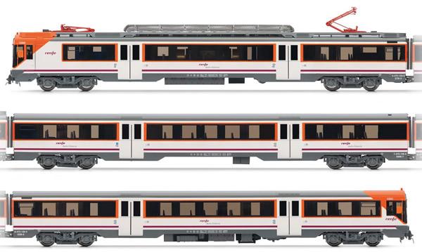Electrotren E3609D - Spanish Electric Railcar Class 470 of the RENFE (DCC Decoder)