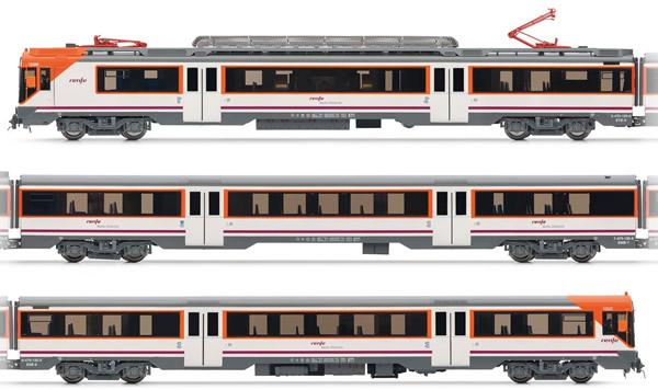 Electrotren E3609S - Spanish Electric Railcar class 470 of the RENFE Operadora (DCC Sound Decoder)