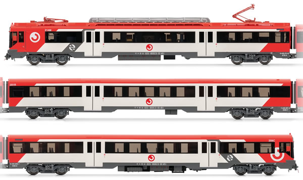 Electrotren E3611 - Spanish Electric Railcar class 440R of the RENFE Cercanías