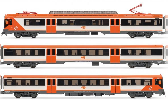Electrotren E3613 - Spanish 3pc Electric Railcar Class 470 of the RENFE