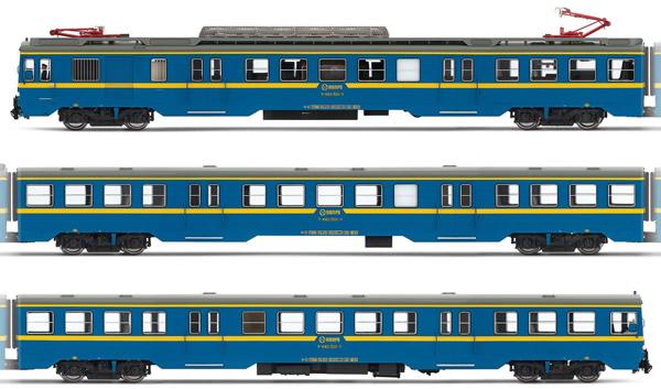 Electrotren E3623D - Spanish Electric Railcar Class 440.501 of the RENFE (DCC Decoder)