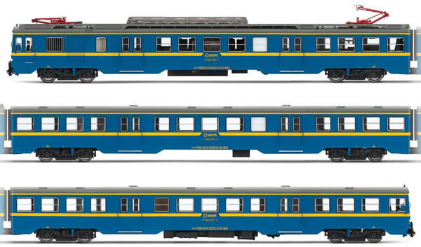 Electrotren E3623D - Spanish Electric Railcar Class 440.501 of the RENFE (DCC Decoder)