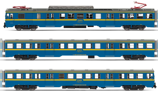 Electrotren E3623S - Spanish Electric Railcar Class 440.501 of the RENFE (DCC Sound Decoder)