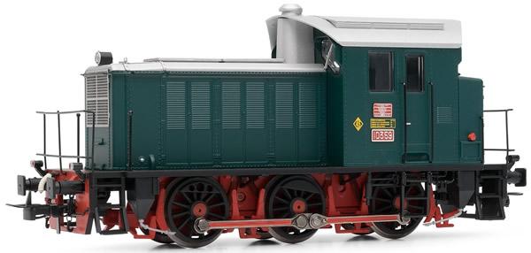Electrotren E3812 - Spanish Diesel Locomotive 10359 original state of the RENFE