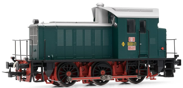 Electrotren E3812D - Spanish Diesel Locomotive 10359 original state of the RENFE