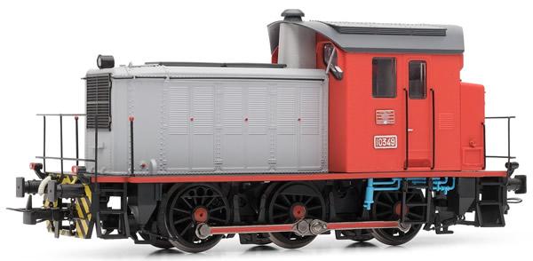 Electrotren E3814D - Spanish Diesel Locomotive 303.049 of the RENFE (DCC Decoder)