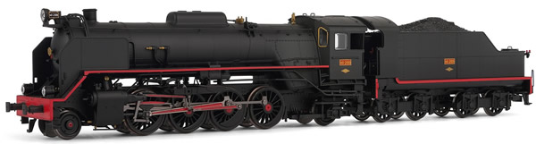 Electrotren E4156S - Spanish Steam Locomotive141-2109 Mikado of the RENFE (DCC Sound Decoder)
