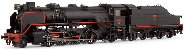 Electrotren E4164D - Spanish Steam Locomotive 141F2396 Mikado of the RENFE (DCC Decoder)