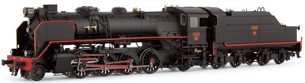 Electrotren E4164S - Spanish Steam Locomotive 141F2396 Mikado of the RENFE (DCC Sound Decoder)