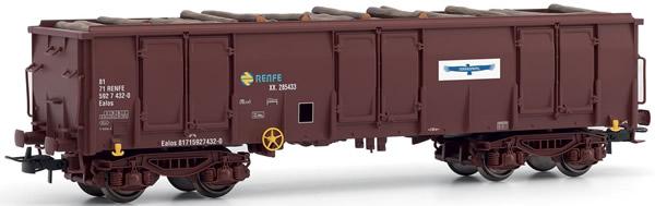 "Electrotren E5386 - Gondola, type Ealos, loaded with logs ""TORRAS PAPEL"""