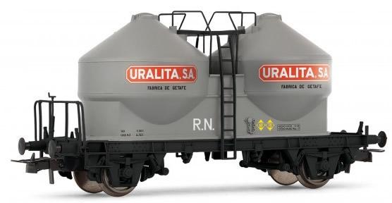 "Electrotren E5492 - Hopper wagon type Uc URALITA"""