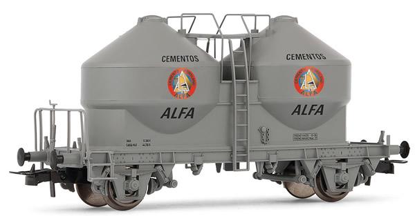 """Electrotren E5493 - Hopper wagon type Uc ALFA Cementos"""""""