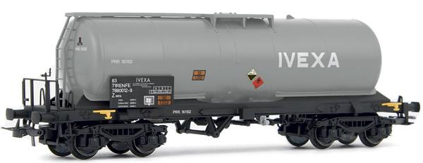 Electrotren E5494 - 4-axle tank wagon IVEXA, slightly weathered