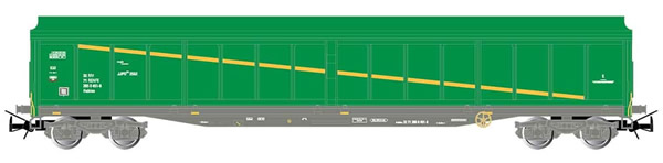 Electrotren E6536 - 4-axle sliding-wall wagon JJPD type