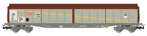 Electrotren E6537 - 4-axle sliding-wall wagon JJPD type