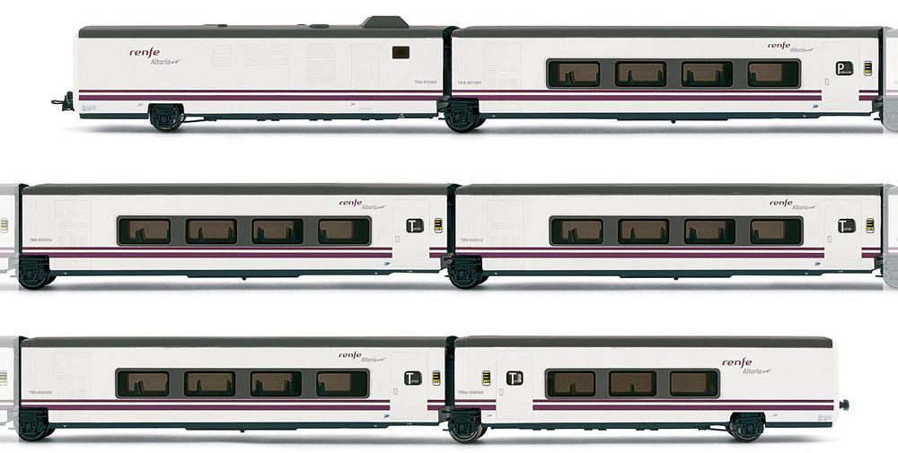 ELECTROTREN 2 PANTOGRAPHES POUR TGV TYPE AVE DE LA RENFE