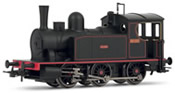Spanish Steam Locomotive 030 Caldas in new livery of the RENFE