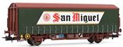 Beer wagon San Miguel