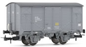 Wagon type J in grey livery with grey chassis