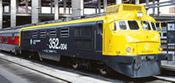 Locomotive  352.004 Grey endside   AC Digital