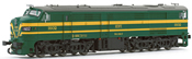 Diesel Locomotive 316.002 green DC