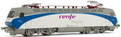 Spanish Electric Locomotive 252.013 Renfe integria of the RENFE