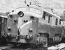 Spanish Electric Locomotive 7702 original state of the RENFE