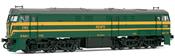 Locomotive 321.063 green & yellow  DC & SOUND