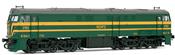 Locomotive 321.063 green & yellow  AC Digital