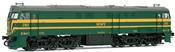 Locomotive 321.063 green & yellow   AC Digital    with Sound