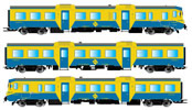 Spanish 3pc Set DMU class 592 of the RENFE (DCC Sound Decoder)