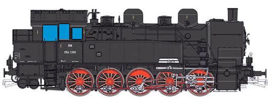 ESU 31105 - Austrian Steam Locomotive Reihe 694 1266 of the OBB (Sound Decoder)
