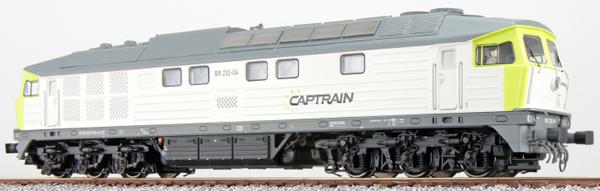 ESU 31164 - German Diesel Locomotive 232-04 Captrain (Sound Decoder)