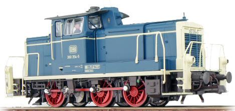 ESU 31411 - German Diesel Locomotive 260 269 of the DB, blue-beige (Sound Decoder and Smoke)