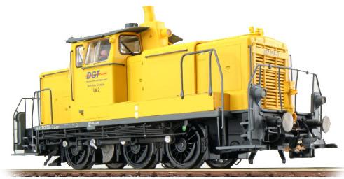 ESU 31418 - German Diesel Locomotive 362 556 of the DB AG, Yellow (Sound Decoder and Smoke)