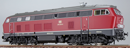ESU 32025 - German Diesel Locomotive BR 218-235 of the DB (Sound Decoder)