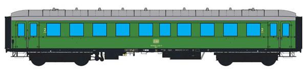 ESU 36133 - German Passenger Car By(e) 667 of the DB