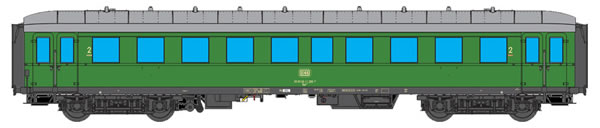 ESU 36134 - German Passenger Car G36 of the DB