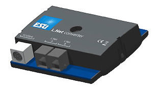ESU 50097 - L.net converter to connect handhelds and feedback modules to the ECoS or CS Reloaded