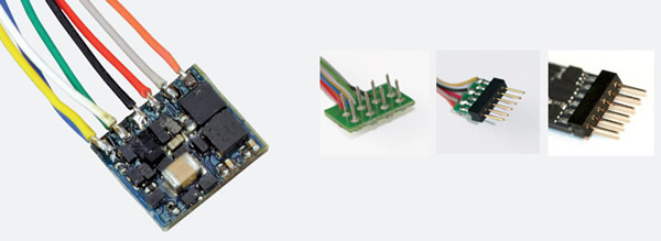 ESU 53665 - Super Small DCC Decoder with 6-pin direct
