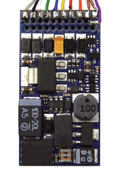 ESU 54400 - LokSound V4.0 Universal sound for reprogramming, with 8-pin NEM652 interface, Gauge: 0, H0