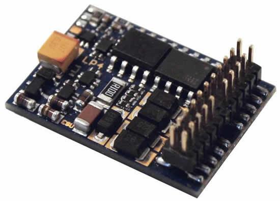 ESU 54617 - LokPilot V4.0 DCC Decoder, PluX22 NEM658, 9 function outputs