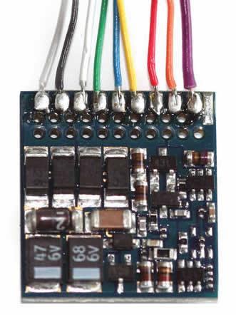 ESU 54620 - LokPilot Fx V4.0, 8 Pin