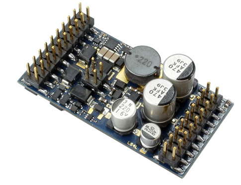 ESU 58315 - LokSound v5 L DCC/MM/SX/M4 No sounds loaded, Pin header with adapter