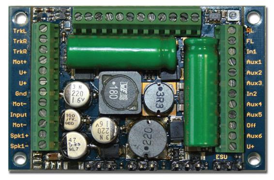 ESU 58513 - LokSound v5 XL DCC/MM/SX/M4 No sounds loaded, Screw Terminal