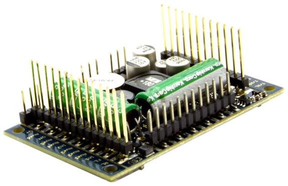 ESU 58515 - LokSound v5 XL DCC/MM/SX/M4 No sounds loaded, Pinheader